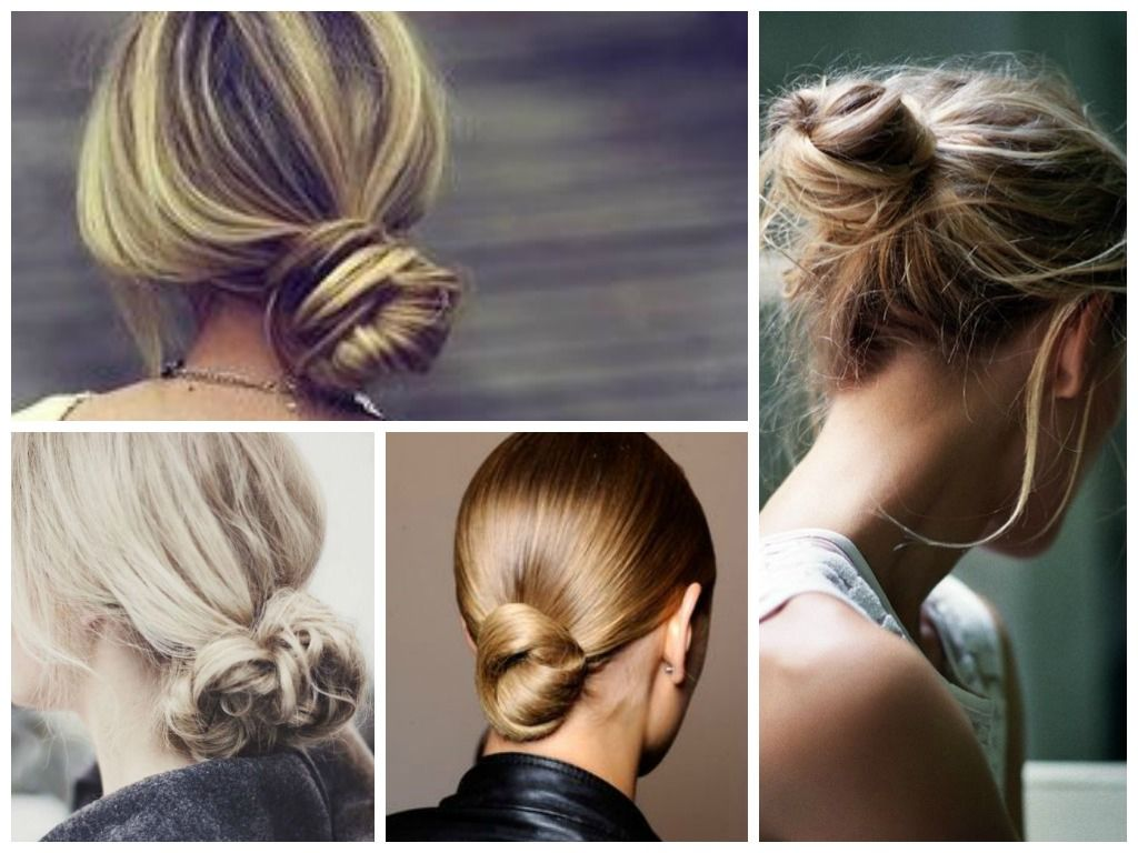 8 Awesome Hairstyles For Bad Hair Days Pinterest Bun Hairstyle
