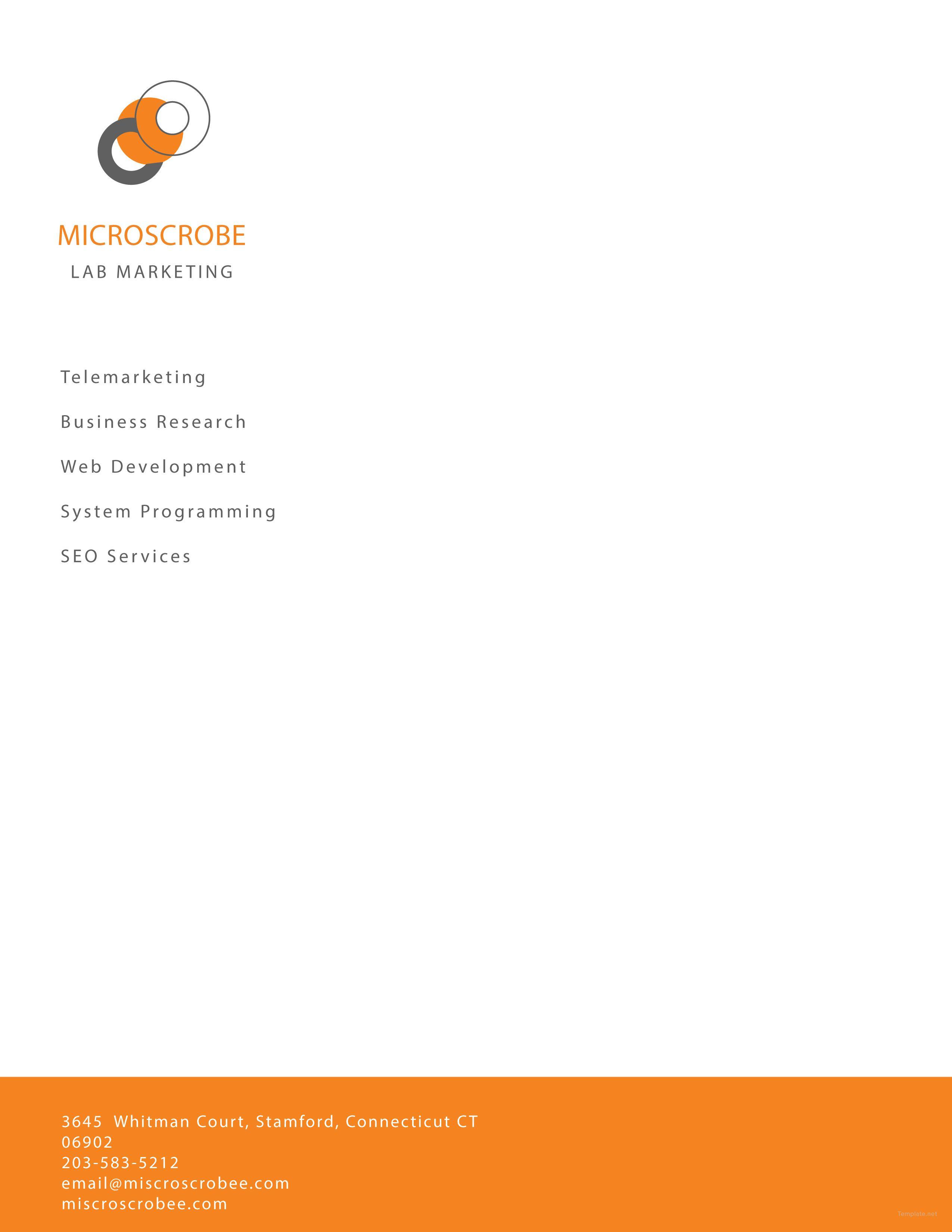 free business marketing letterhead template functional resume for nurses team leader samples good cv