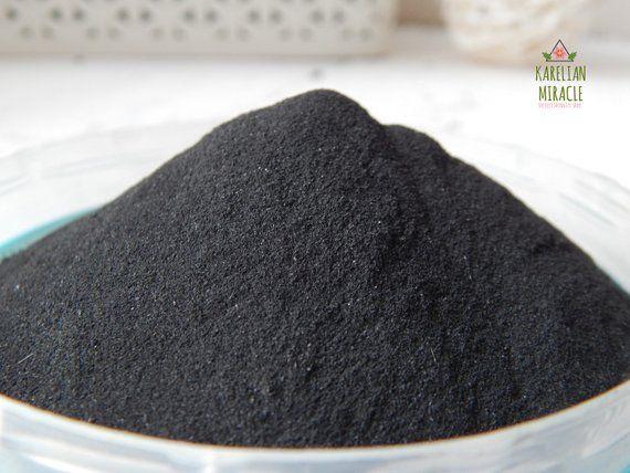 Shungite powder, healing shungite,raw shungite stone, shungite stone