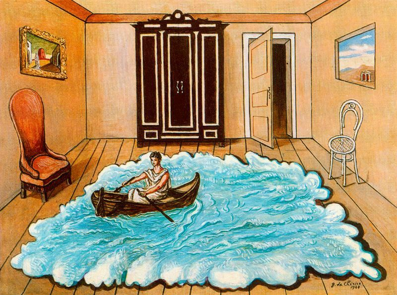 The Return Of Ulysses Giorgio De Chirico With Images De