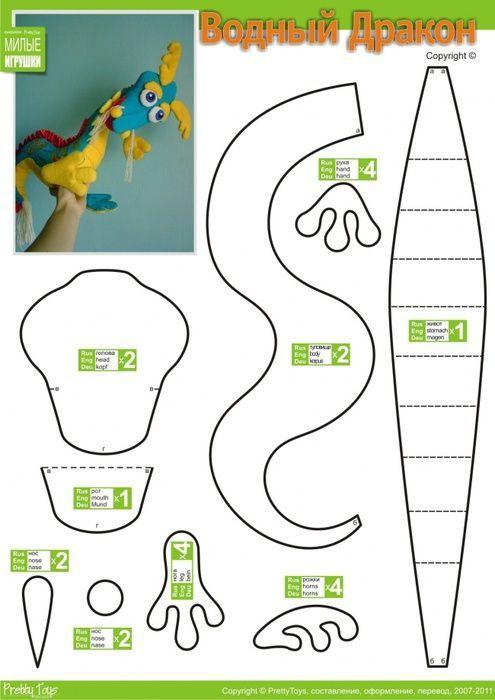 moldes de feltro dinossauro para imprimir - Pesquisa Google ...