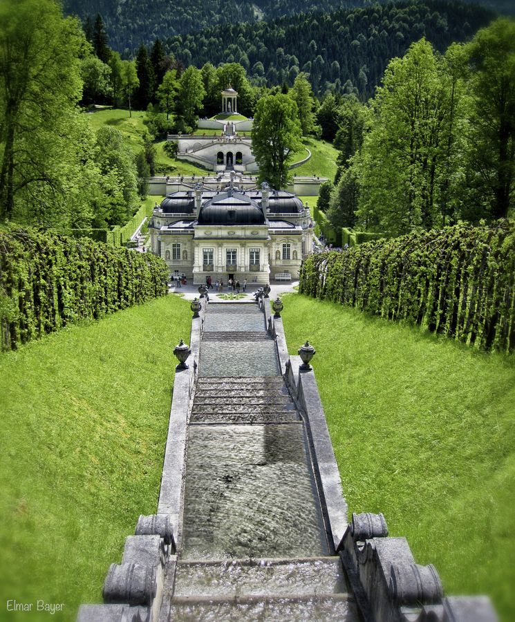 Castle Linderhof, Bavaria, Germany  beautiful to see in person  :)