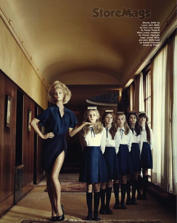 Finishing School By Corrie Bond For Marie Claire Australia Finishing School School Fashion Marie Claire Australia