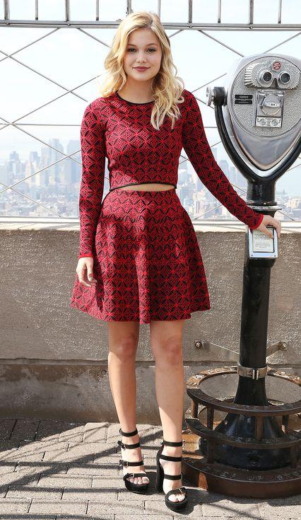 Best Dressed Stars From Last Night Olivia Holt Dresses