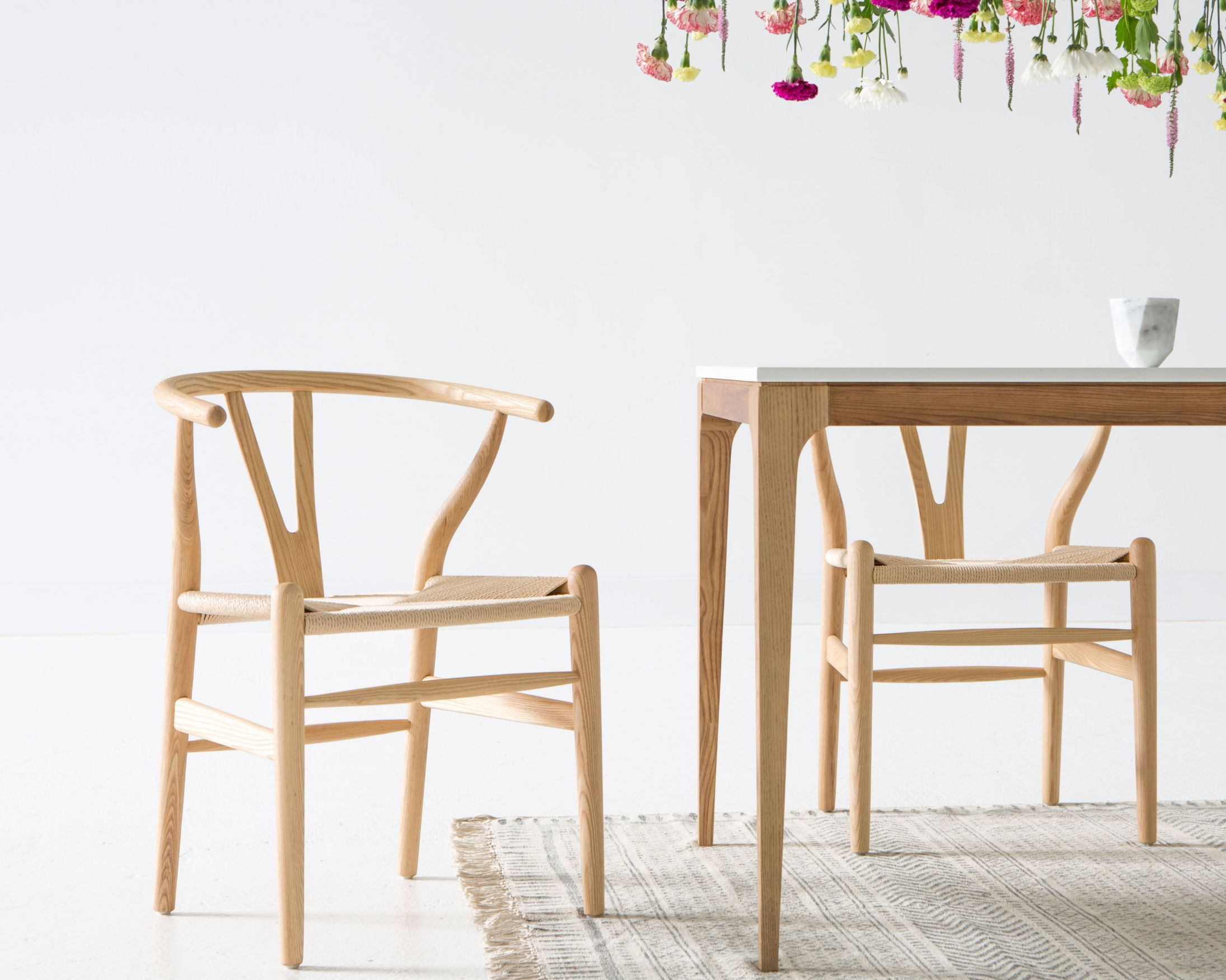 The Wishbone Chair, Also Known As The CH24 Chair Or The Y Chair, Is