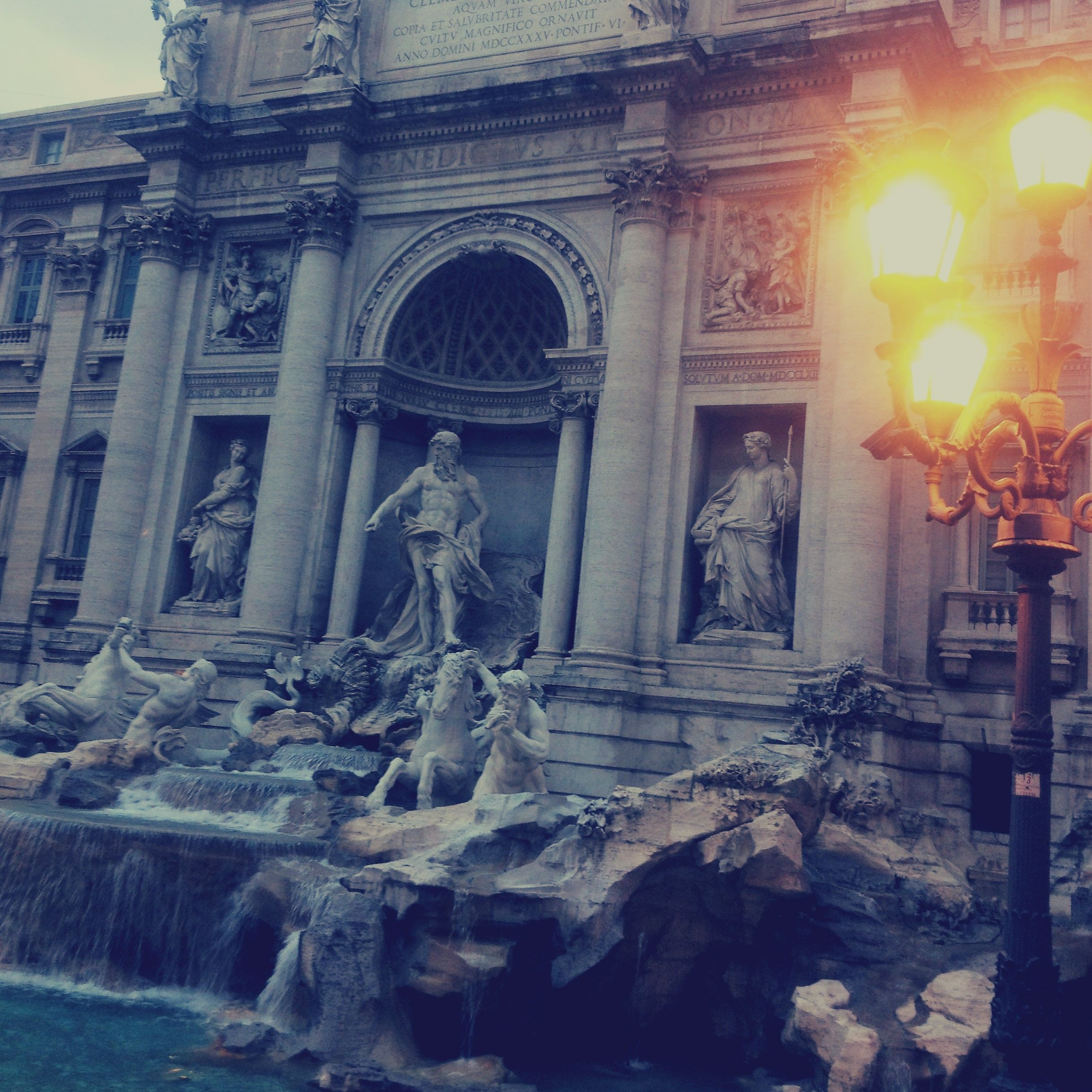 Rome Italy Europe Travel Wanderlust History Vintage Travel Explore Sightseeing Vacation Holiday taKotryna Trevi Fountain Piazza
