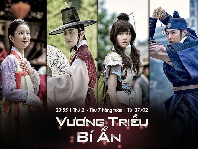 Vương Triều Bí Ẩn Kênh trên TV Thuyết minh - Htv3