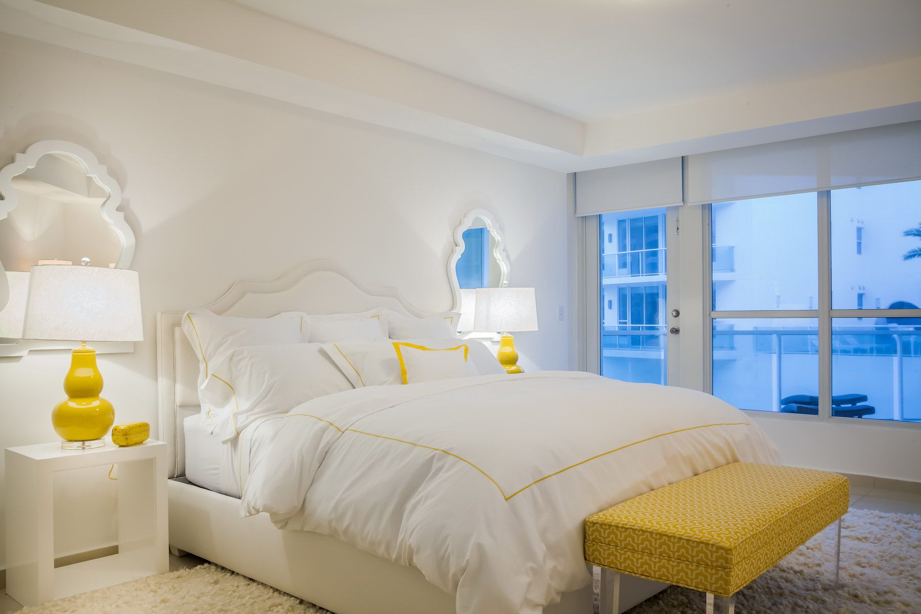 Aaron Stewart Lifestyle Design White and Yellow Master