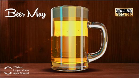 Beer Mug Background