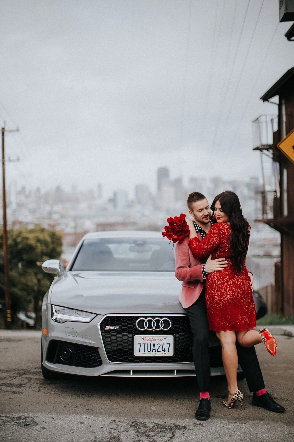 Day couple Valentines Day with Audi on demand Sassy lipstick-ad_1] | Valentines ... Valentineamp#0