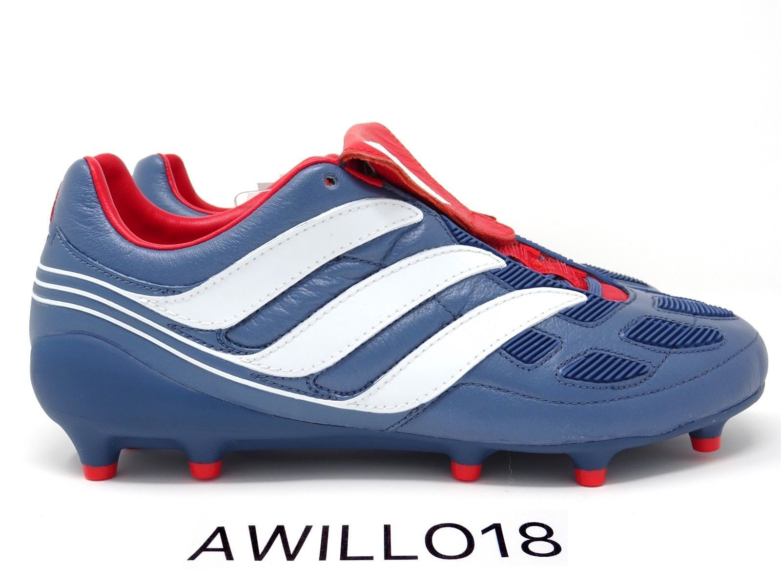 taille 40 e0148 fd65f Adidas Predator Precision Remake FG Football Boots Blue UK 7 ...