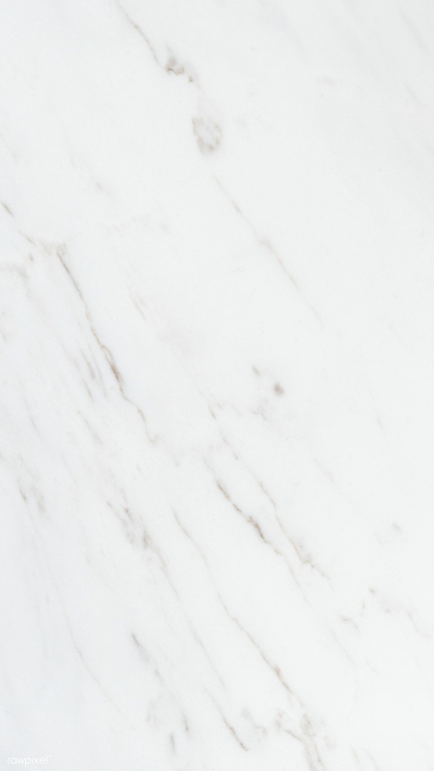 Download premium image of Smooth plain white marble texture mobile