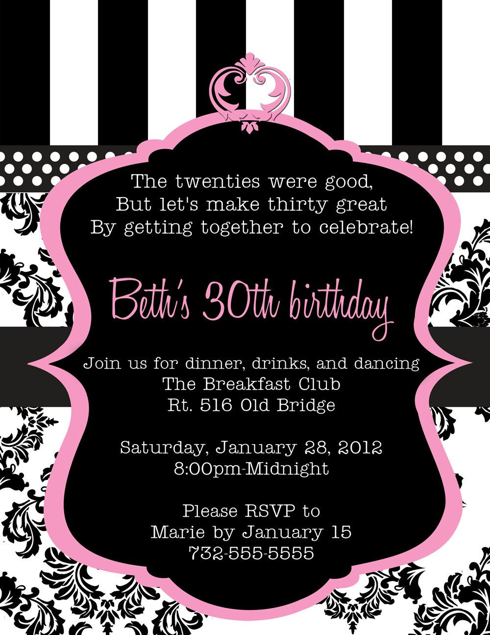 birthday-invitations-incredible-sweet-30th-birthday-invitations-free ...
