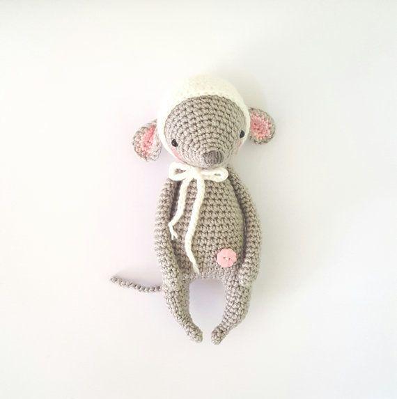Häkelanleitung Mimi die Maus von AmalouDesigns auf Etsy