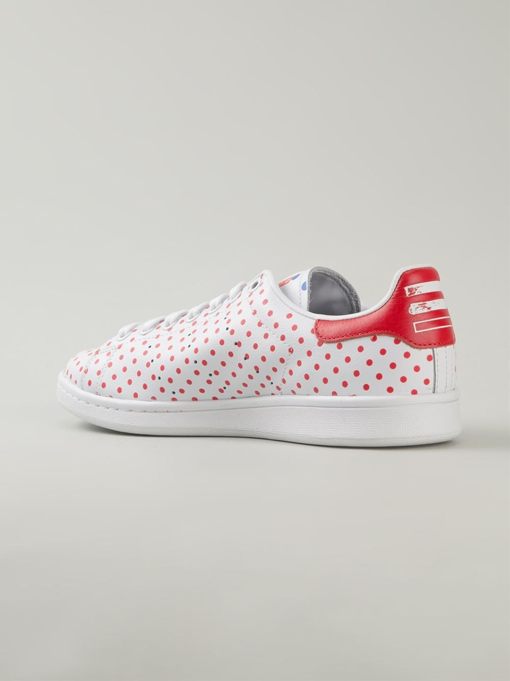 fc22016c7fcce Adidas Originals X Pharrell Williams  stan Smith  Polka Dot Sneakers -  Penelope - Farfetch
