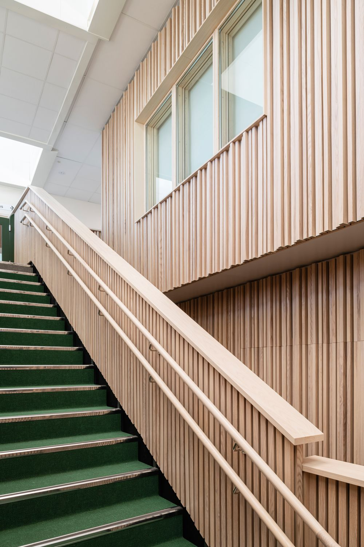 Inspiring School Environment In Wood At Stigtomta