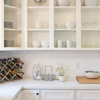 No Doors On Kitchen Cabinets Transitional Kitchen Upper Kitchen Cabinets Open Kitchen Cabinets New Kitchen Cabinets