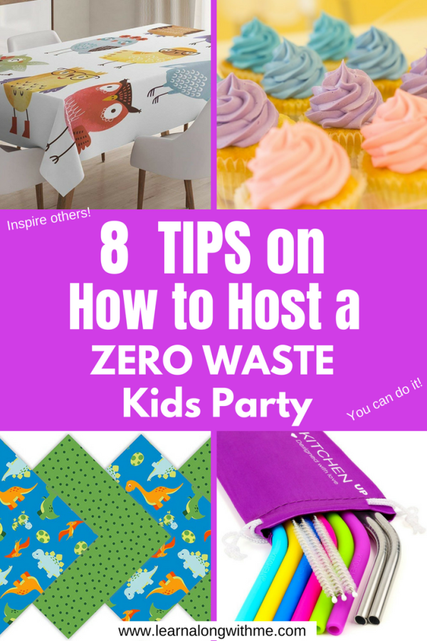 How To Host A Zero Waste Kids Birthday Party 8 Simple Tips Eco