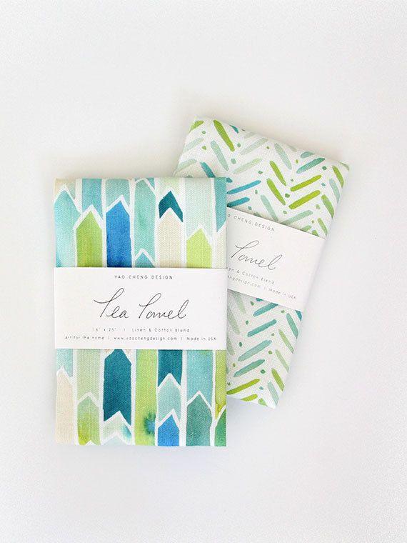 Aloha Floral Kitchen Towel Tea Towel Flour Sack Towel Hawaiian