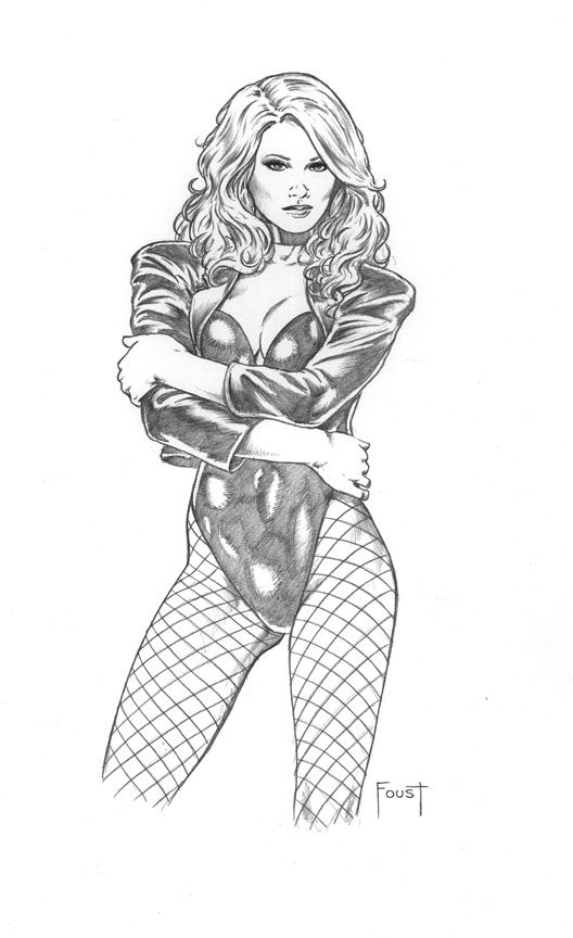 Black Canary By Mitchfoust On Deviantart Black Canary