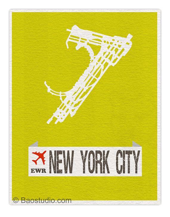 Fly Me To New York City Ewr Newark Liberty International New