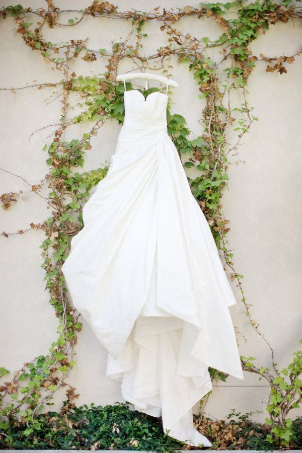 stunning wedding gown by romona keveza