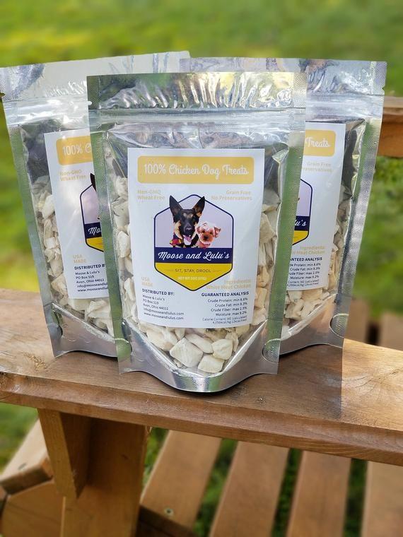 Chicken Dog Treats No Preservatives Single Ingredient Grain Free