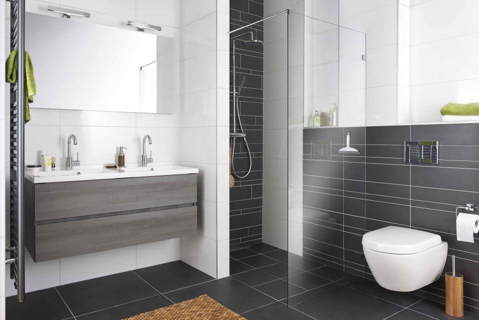 Badkamer Tegels Antraciet : Badkamertegels antraciet google zoeken badkamer wc pinterest