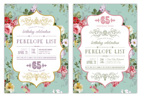 Nice Create Own 65th Birthday Invitations Ideas Check More At