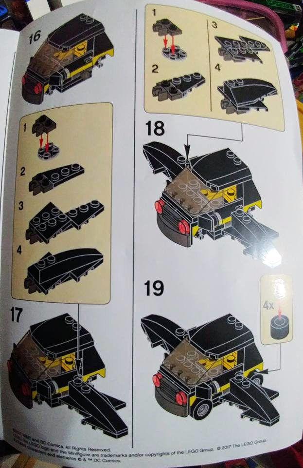 Lego Batman Movie Mini Batmobile Lego Creations Pinterest Lego