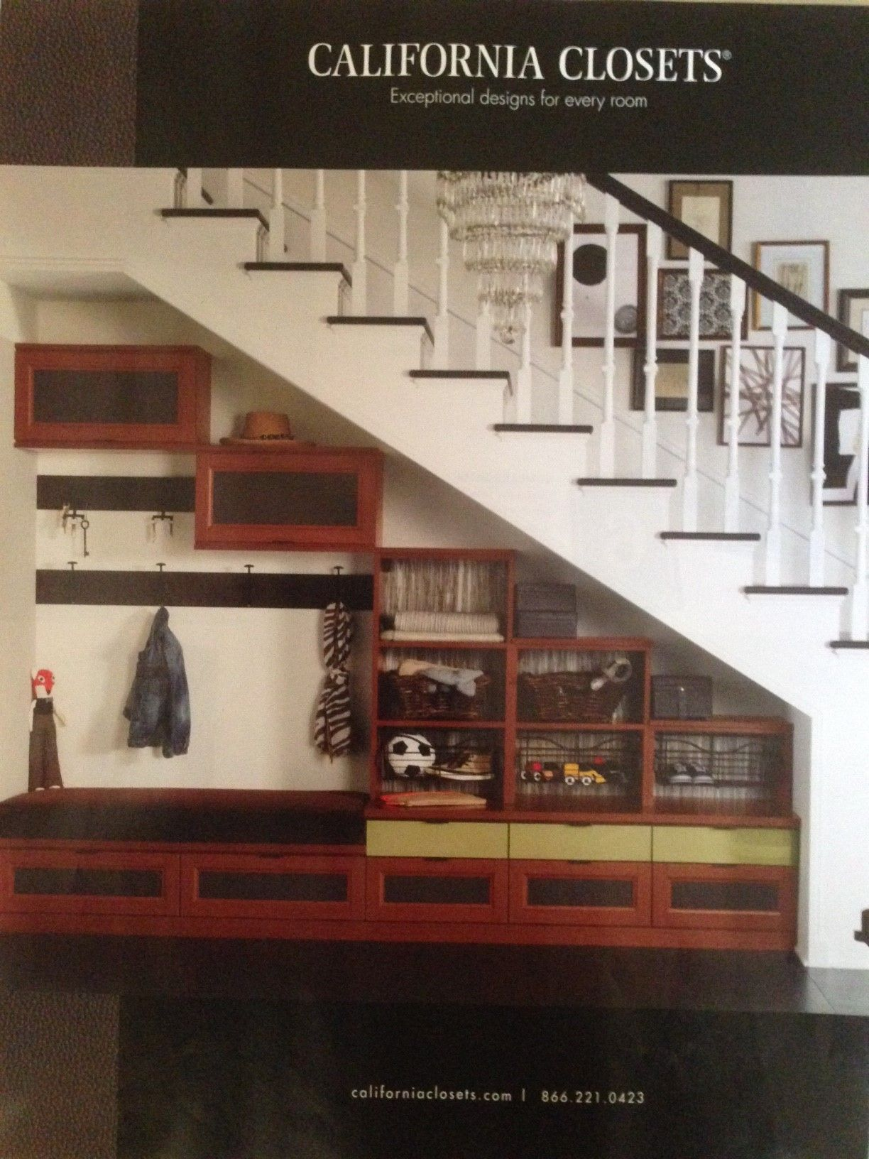 Greater Boston Custom Closets Closet Organization By California Closets Bed Under Stairs Stairs