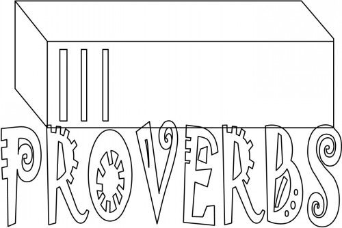 coloring pages proverbs - photo#29
