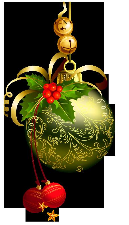 CHRISTMAS ORNAMENTS AND BELLS CLIP ART Natal imagens
