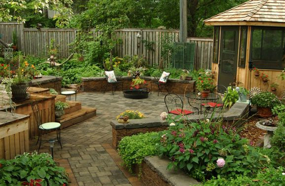 Award Winning Professional Landscape Design And Installation Contractor Based Out Of The Twin Cities In M Patio Garden Design Backyard Patio Small Patio Garden