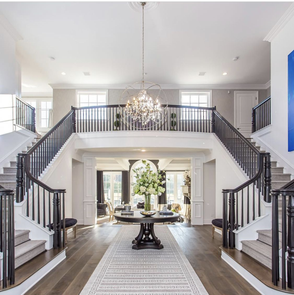 Welcoming Grand Entry In 2020 Dream Home Design Dream House Interior House Design