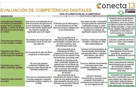 Ple Docente Abpmooc Intef Evaluación De Competencias Digitales Educación Tecnologías Y Negocios Teaching Methodology Rubrics Learning Management System