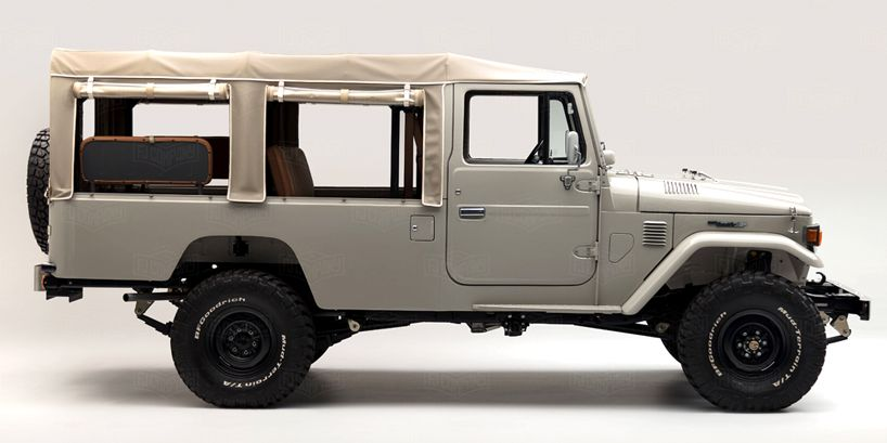 toyota fj45 land cruiser multi purpose vehicle by fj company rh pinterest com