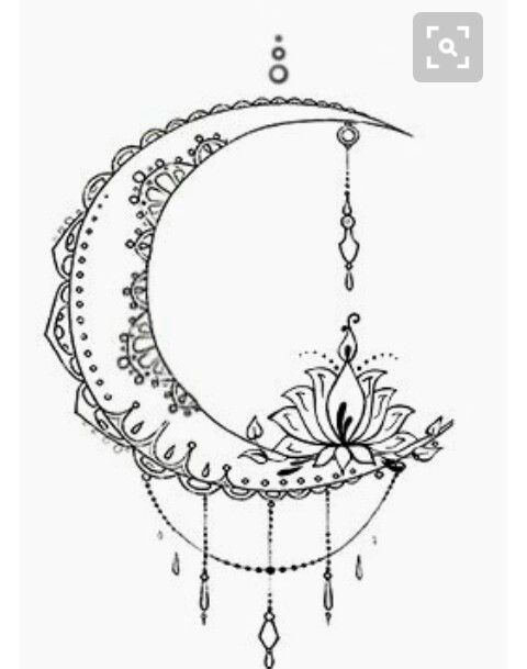 Tatto Ideas 2017 Bohemian Moon Tattoo Design Designed By The Devil Is In Details F Trends
