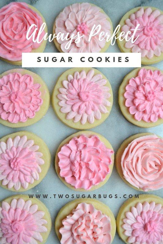 Always Perfect Sugar Cookies ~ two sugar bugs ~ Cookies