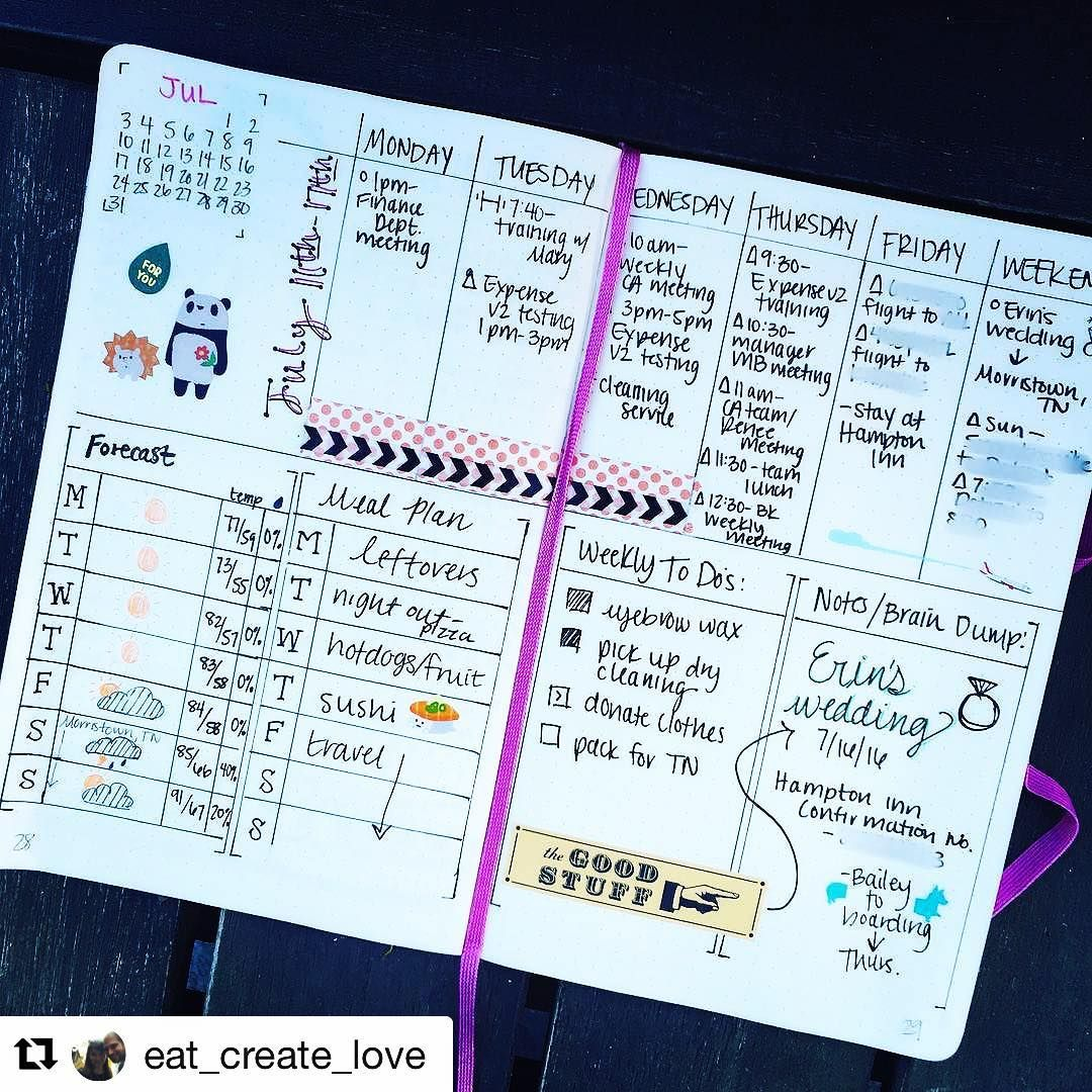 784 Likes, 4 Comments - Planner Inspiration (@showmeyourplanner) on ...