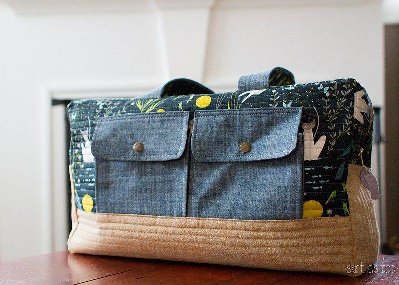 catnap cargo duffle bag - a different tutorial for the same bag ...