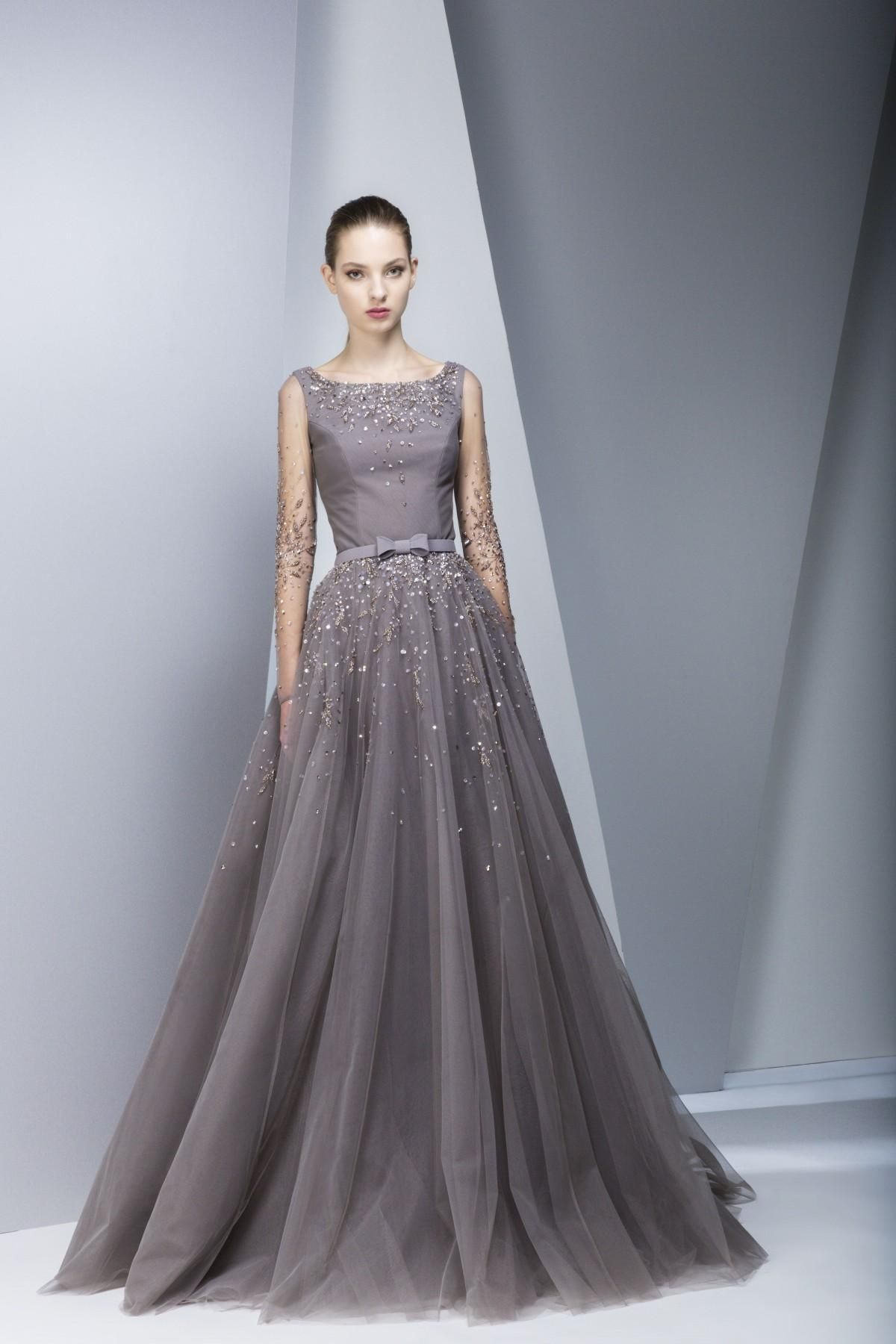 Luxury Prom Dresses 2015 Georges Chakra Evening Gowns Celebrity ...
