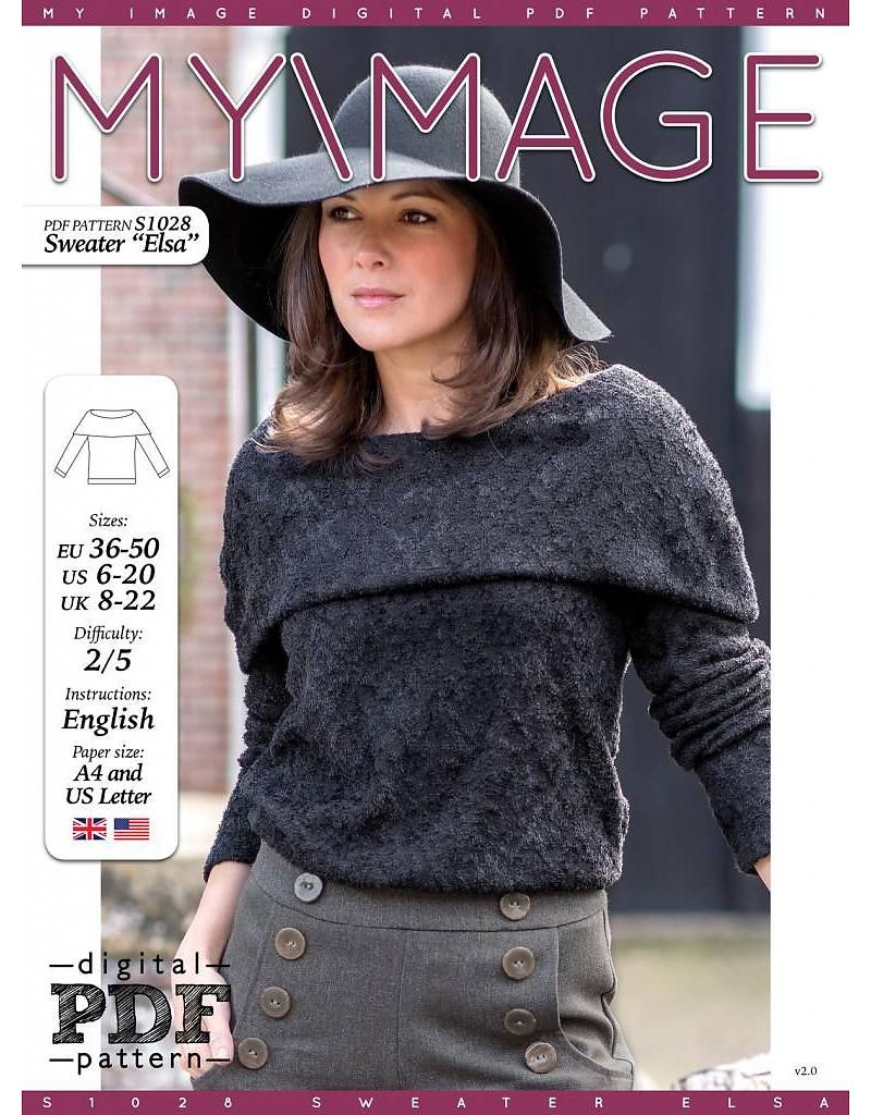 Free PDF pattern from My Image Magazine. Available in English ...