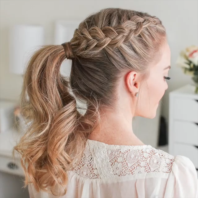 Photo of Gorgeous Prom Hairstyle
