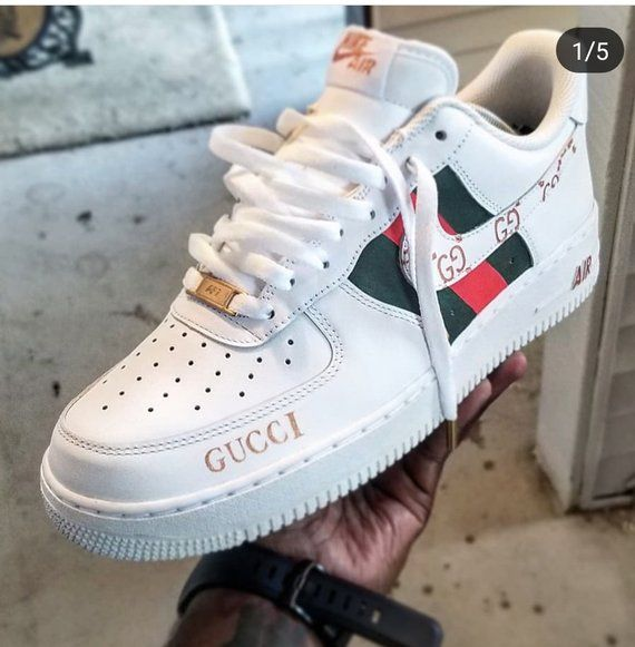 new style 354dc 36a13 Custom hand painted Nike Air Force 1 Low, with Custom Gold shoe aglets.  Made to order all sizes available only 10 total will be made.