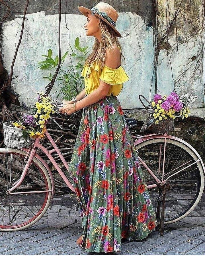 🌻Flower Power🌻 Boho inspo #bohofashion #bohostyle #bohemian #bohochic #freespirit #gypsy #bohemianstyle #lovethis #fashionblog…