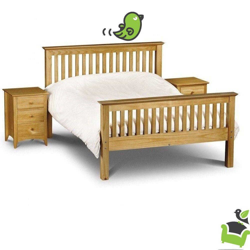 Barcelona Low Foot End Stone Bed Frame Bedroom Beds Woodenbeds