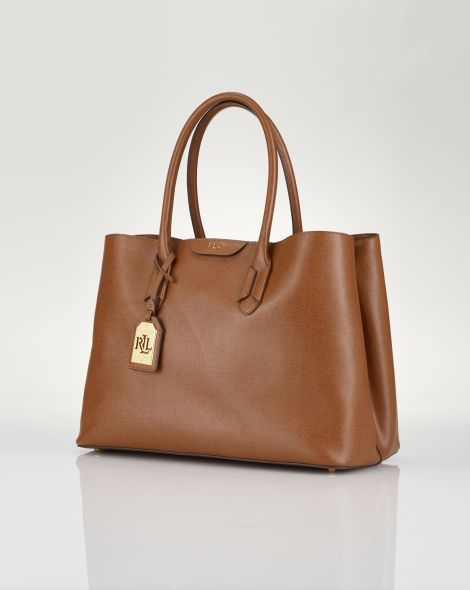 fcddc246266cd Leather Tate City Tote - Lauren Lauren Handbags - RalphLauren.com ...