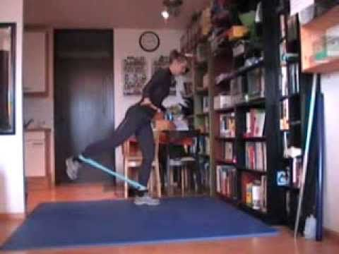cardio/toning with the loop-tube/loop-band - YouTube