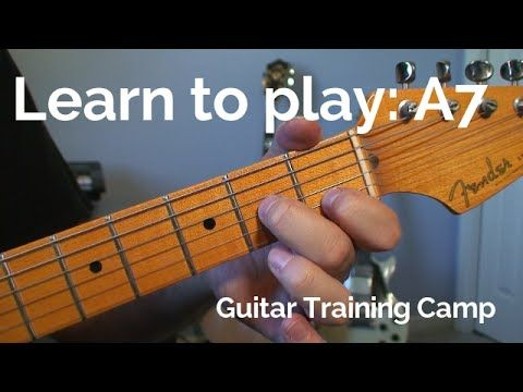 Beginner Guitar Lessons How To Play A A7 Chord Guitar Lessons
